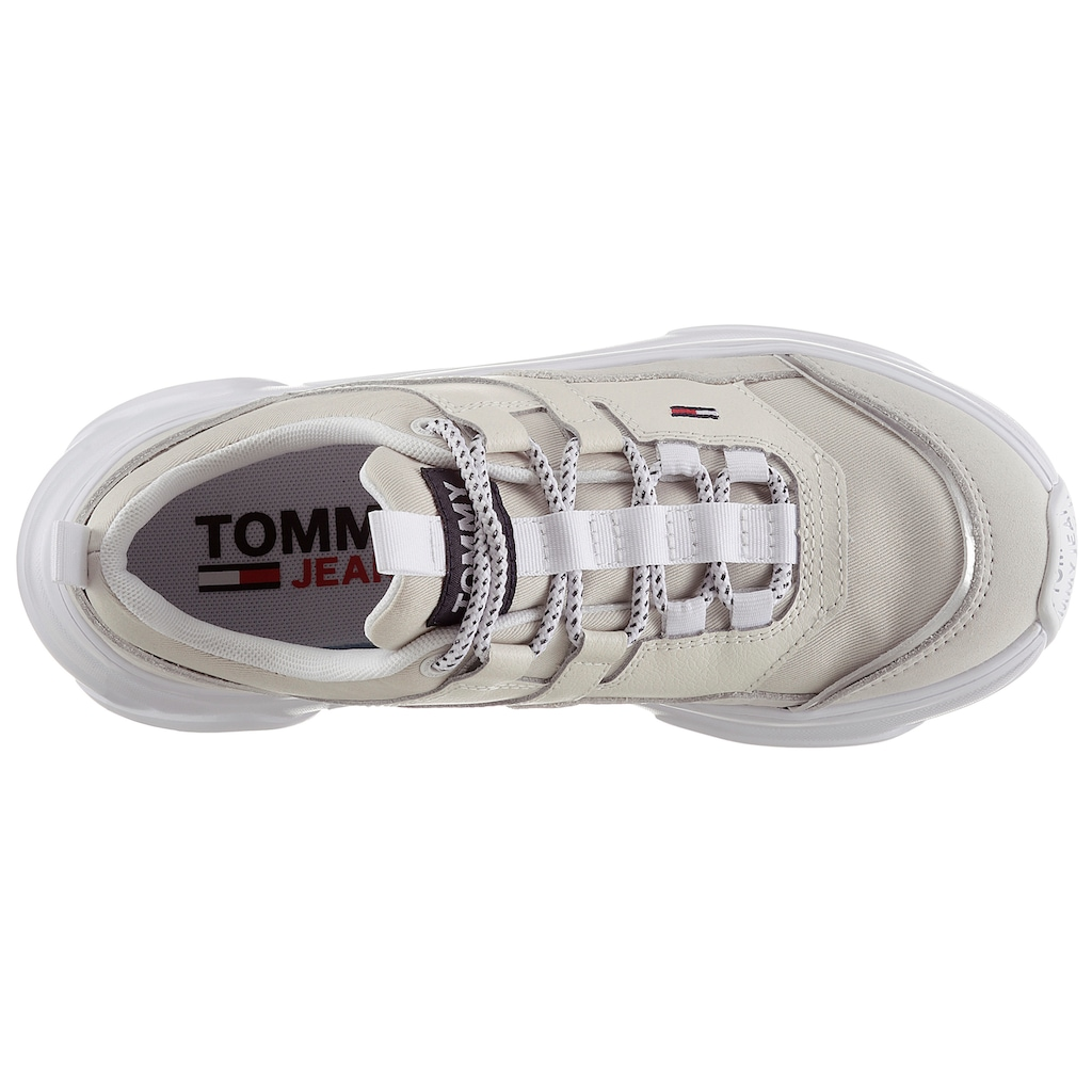 Tommy Jeans Wedgesneaker »TOMMY JEANS LIGHTWEIGHT SHOE«, mit Ortholite Hybrid Ausstattung