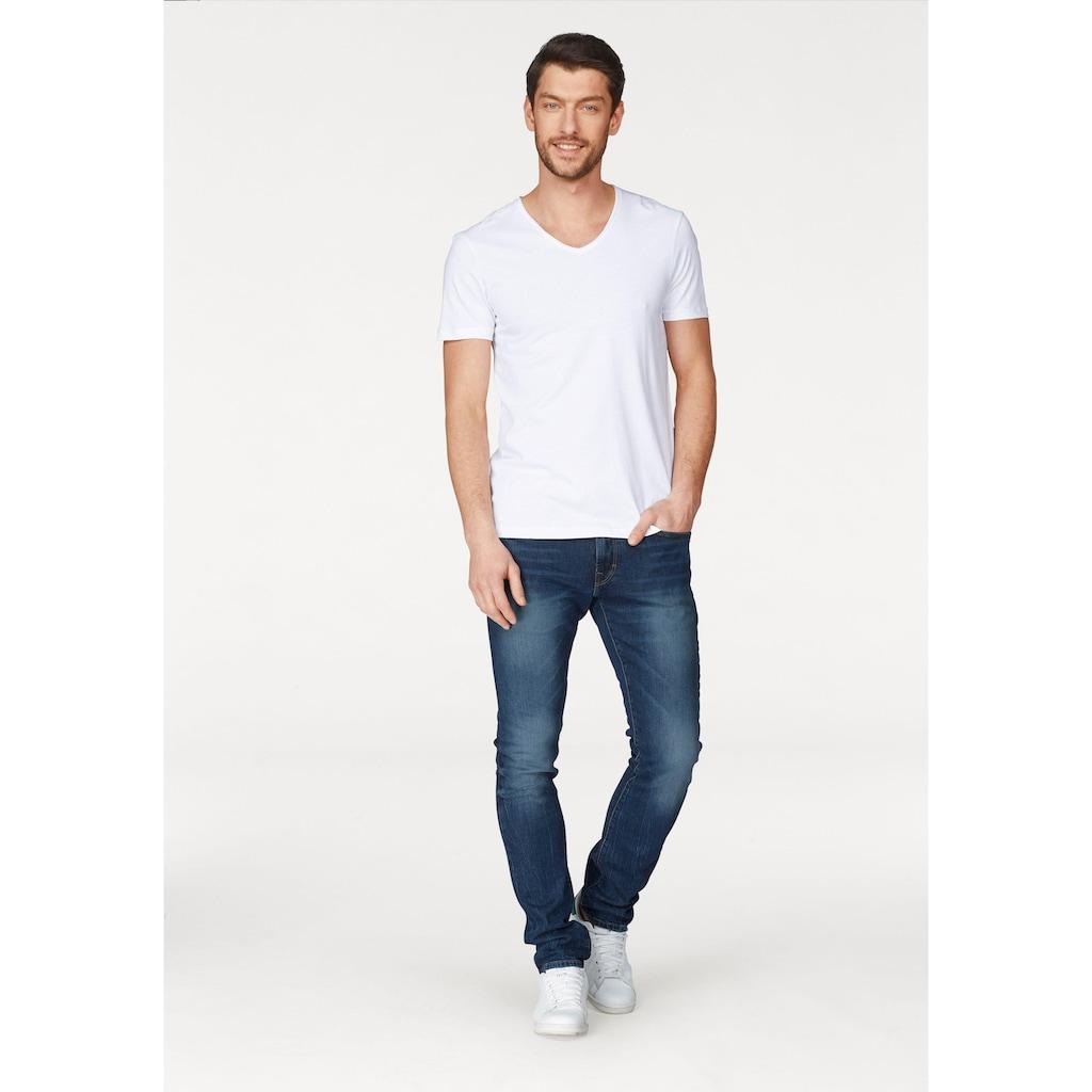 edc by Esprit Slim-fit-Jeans, mit Wascheffekten