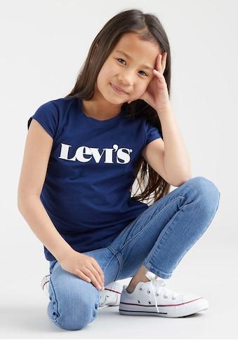 Levi's Kidswear T-Shirt, mit schlichtem Logodruck kaufen
