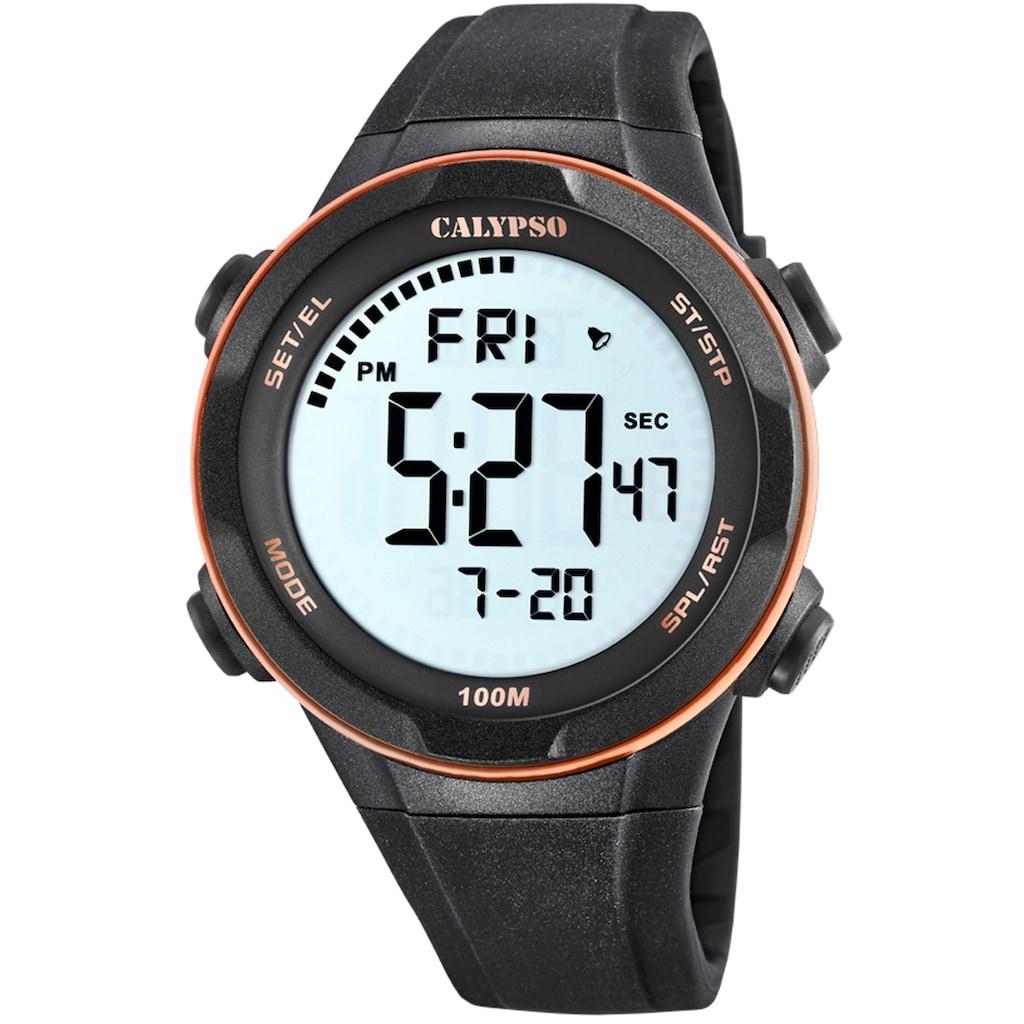 CALYPSO WATCHES Chronograph »Digital For Man, K5780/6«