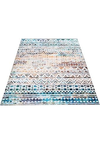 andas Teppich »Jonte«, rechteckig, 6 mm Höhe, Vintage Design, Wohnzimmer kaufen