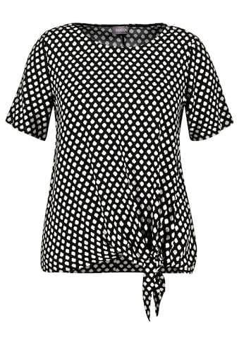 Samoon Klassische Bluse »Blusenshirt mit Knoten - Detail« kaufen
