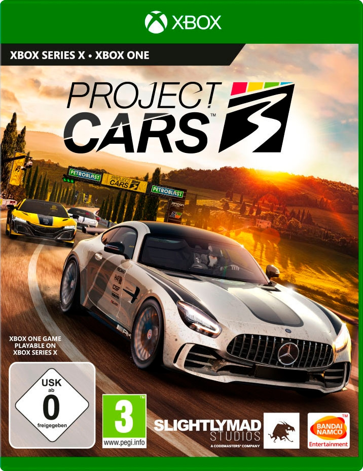 Image of BANDAI NAMCO Spiel »Project Cars 3«, Xbox One