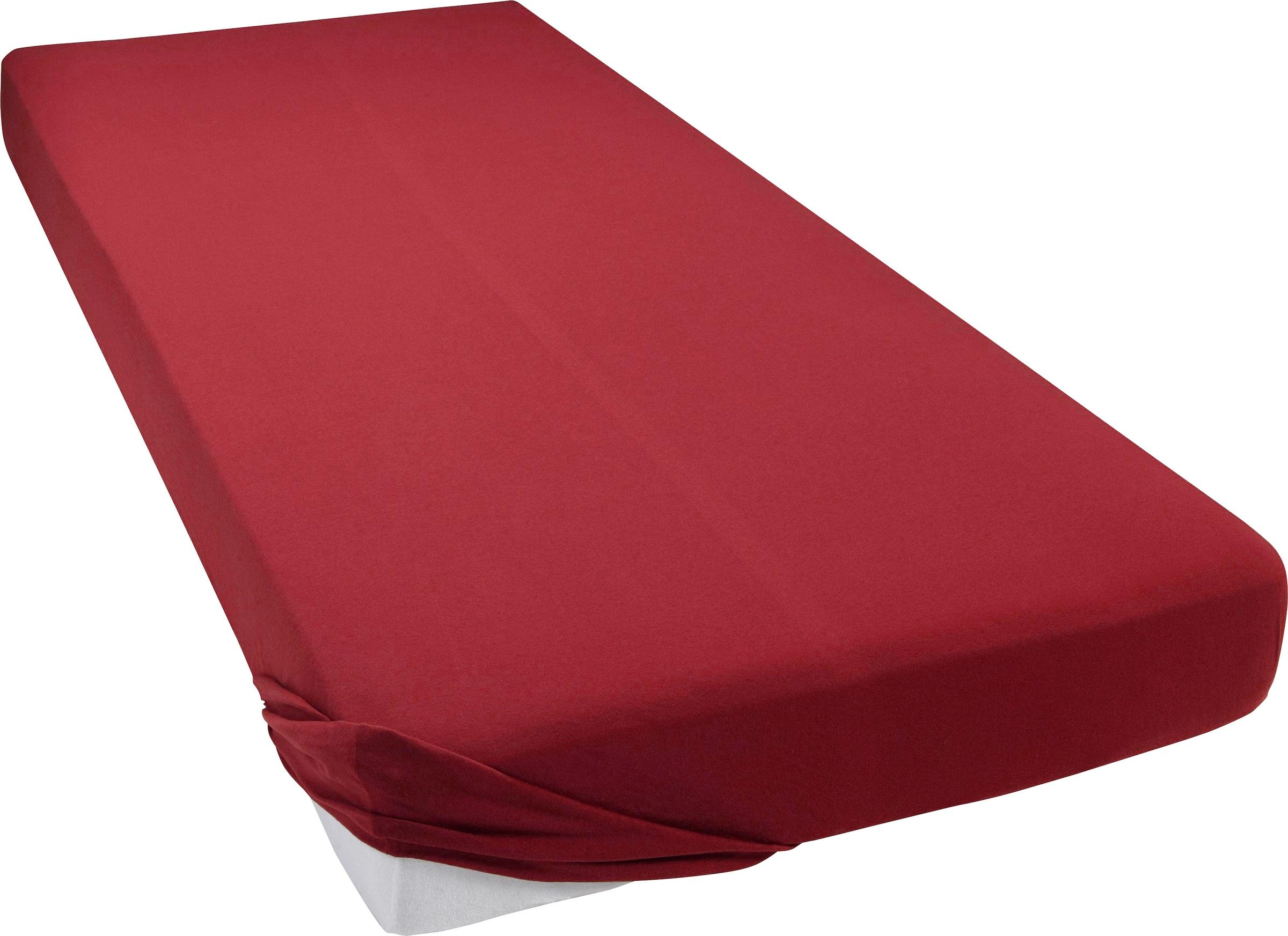 Image of bellana Spannbettlaken »Mako-Jersey exclusiv«, pflegeleicht und besonders formstabil