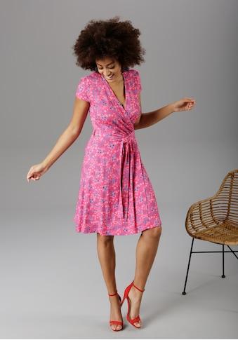 Aniston SELECTED Sommerkleid, in sommerlicher Knallfarbe - NEUE KOLLEKTON kaufen