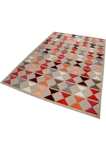 Esprit Wollteppich »Mahan«, rechteckig, 10 mm Höhe, reine Wolle, Wohnzimmer kaufen