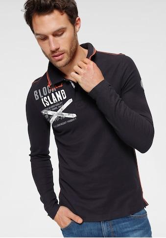 Rhode Island Langarm - Poloshirt kaufen