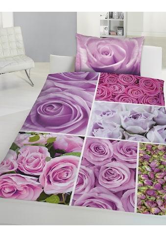 Renforcé - Bettwäsche »Rosen« kaufen
