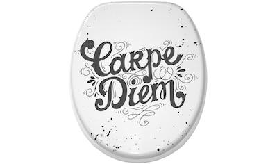 Sanilo WC-Sitz »Carpe Diem«, mit Absenkautomatik kaufen