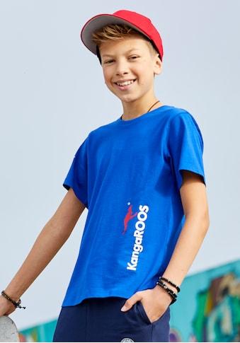 KangaROOS T-Shirt »mit seitlichem Logodruck« kaufen