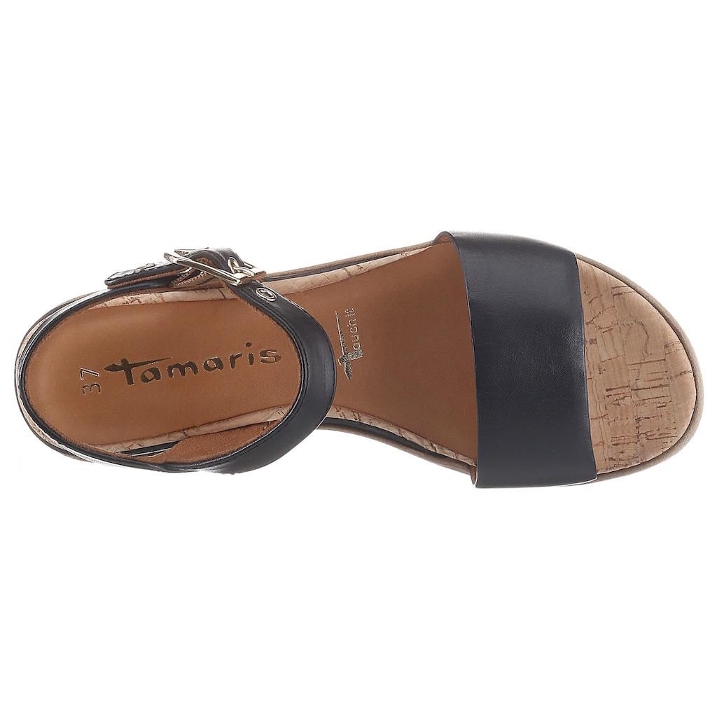 Tamaris Sandale »Eda«, im schlichten Design