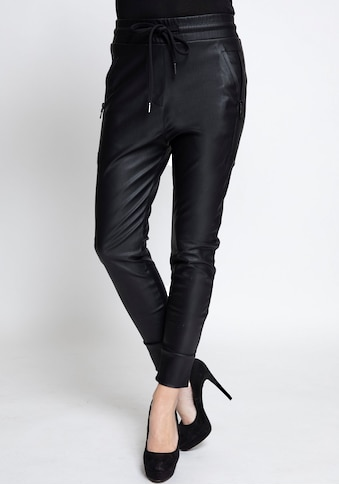 Zhrill Jogger Pants »FABIA FAKE LEATHER«, Lederimitathose im Joggerstil mit... kaufen