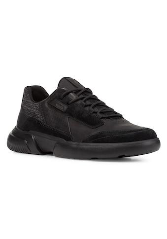 Geox Sneaker »Smoother«, mit auffälliger Schnürung kaufen
