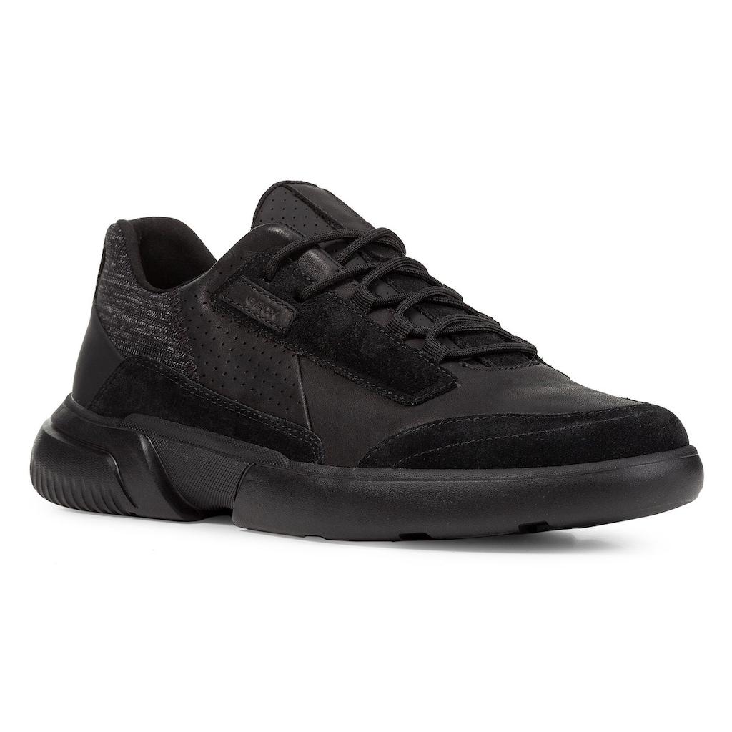 Geox Sneaker »Smoother«, mit auffälliger Schnürung