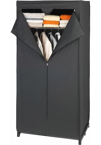 WENKO Kleiderschrank »Deep Black«, Masse (B x H x T): 75 x 160 x 50 cm kaufen