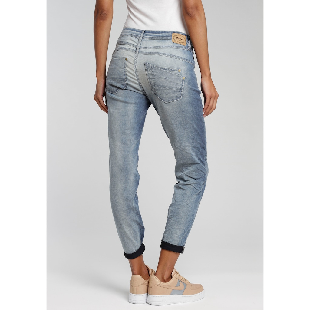 GANG Relax-fit-Jeans »Amelie«, in cooler Used Waschung