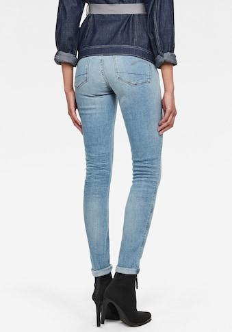 G - Star RAW Skinny - fit - Jeans »3301 High Skinny« kaufen