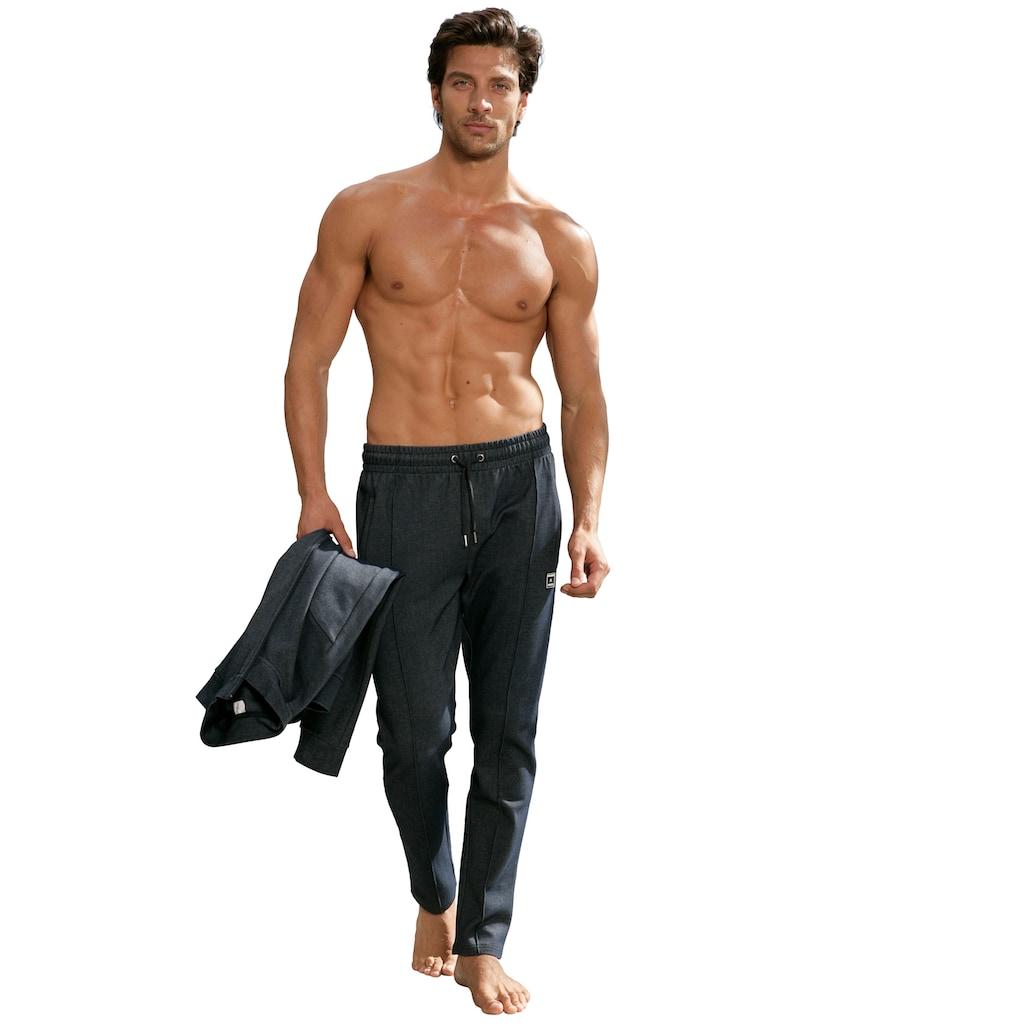 AUTHENTIC LE JOGGER Loungehose, aus Pikee-Qualität