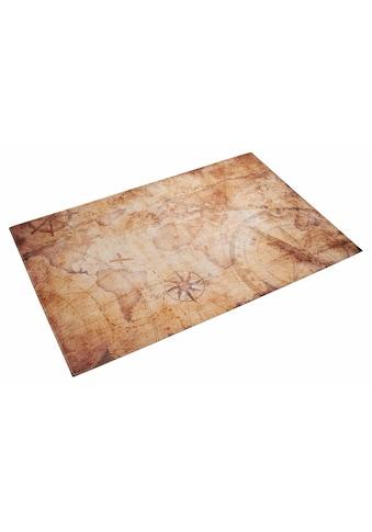 Böing Carpet Kinderteppich »Lovely Kids 412«, rechteckig, 6 mm Höhe, Motiv Seekarte kaufen
