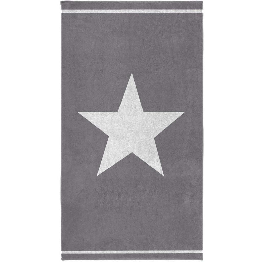 Seahorse Strandtuch »Star«, (1 St.), mit grossem Sternemotiv