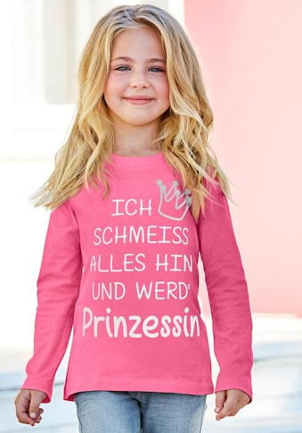 KIDSWORLD Langarmshirt »Prinzessin« kaufen
