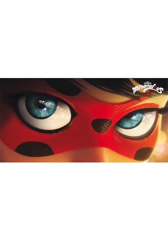 Strandtuch »Ladybug Eyes«, (1 St.), Miraculous, mit grosser Nahaufnahme kaufen
