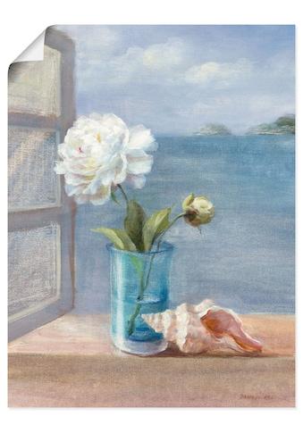 Artland Wandbild »Küsten Blumen I«, Arrangements, (1 St.), in vielen Grössen &... kaufen