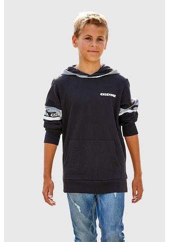 Chiemsee Kapuzensweatshirt, mit kontrastfarbenen Details kaufen