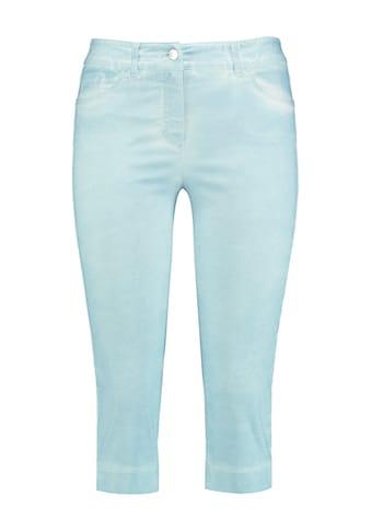 GERRY WEBER Hose Jeans verkürzt »Caprihose Best4me« kaufen