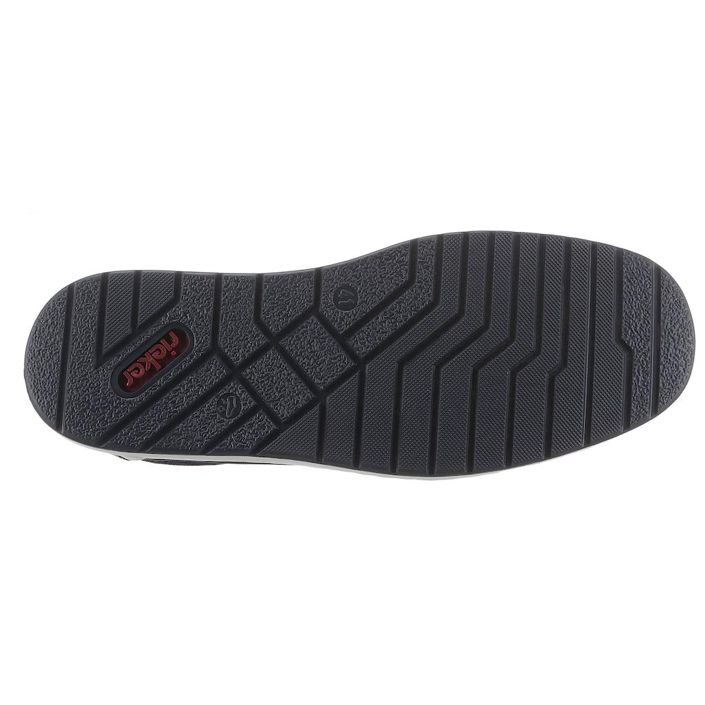 Rieker Slip-On Sneaker, mit Stretcheinsätze