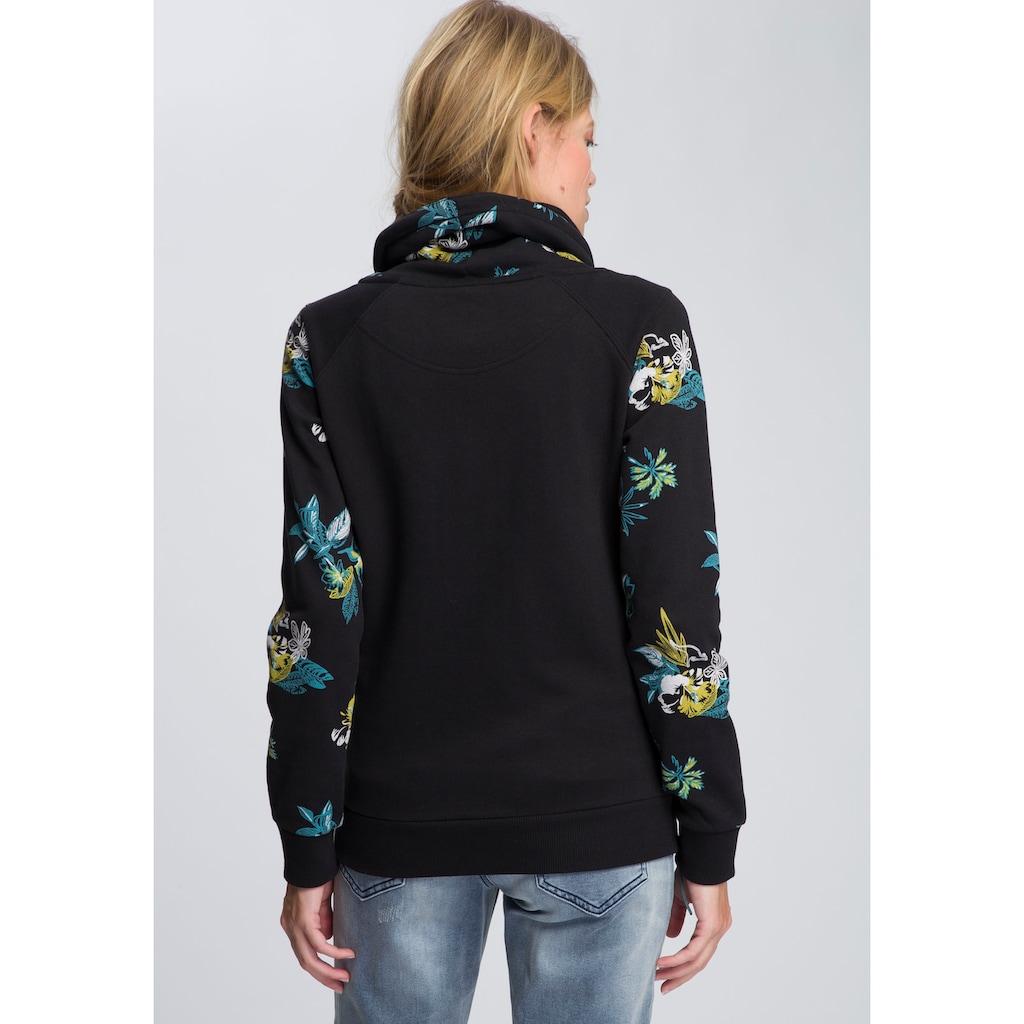 KangaROOS Sweater, mit grossem Rollkragen