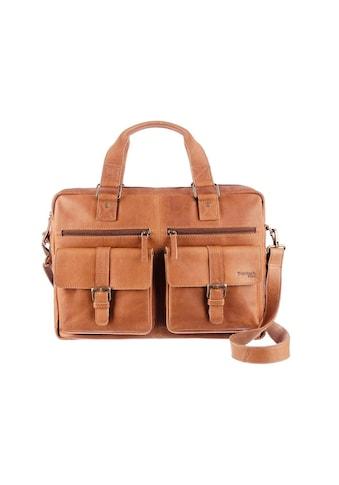 GreenLand Nature Messenger Bag, mit praktischem Reissverschluss-Rückfach kaufen