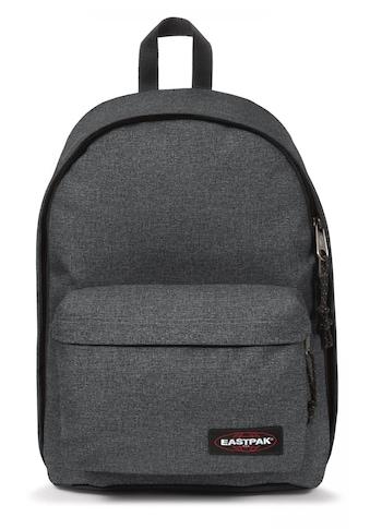 Eastpak Laptoprucksack »OUT OF OFFICE, Black Denim«, enthält recyceltes Material... kaufen