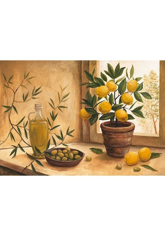 Home affaire Kunstdruck »A. S.: Olive and lime«, 99/69 cm kaufen
