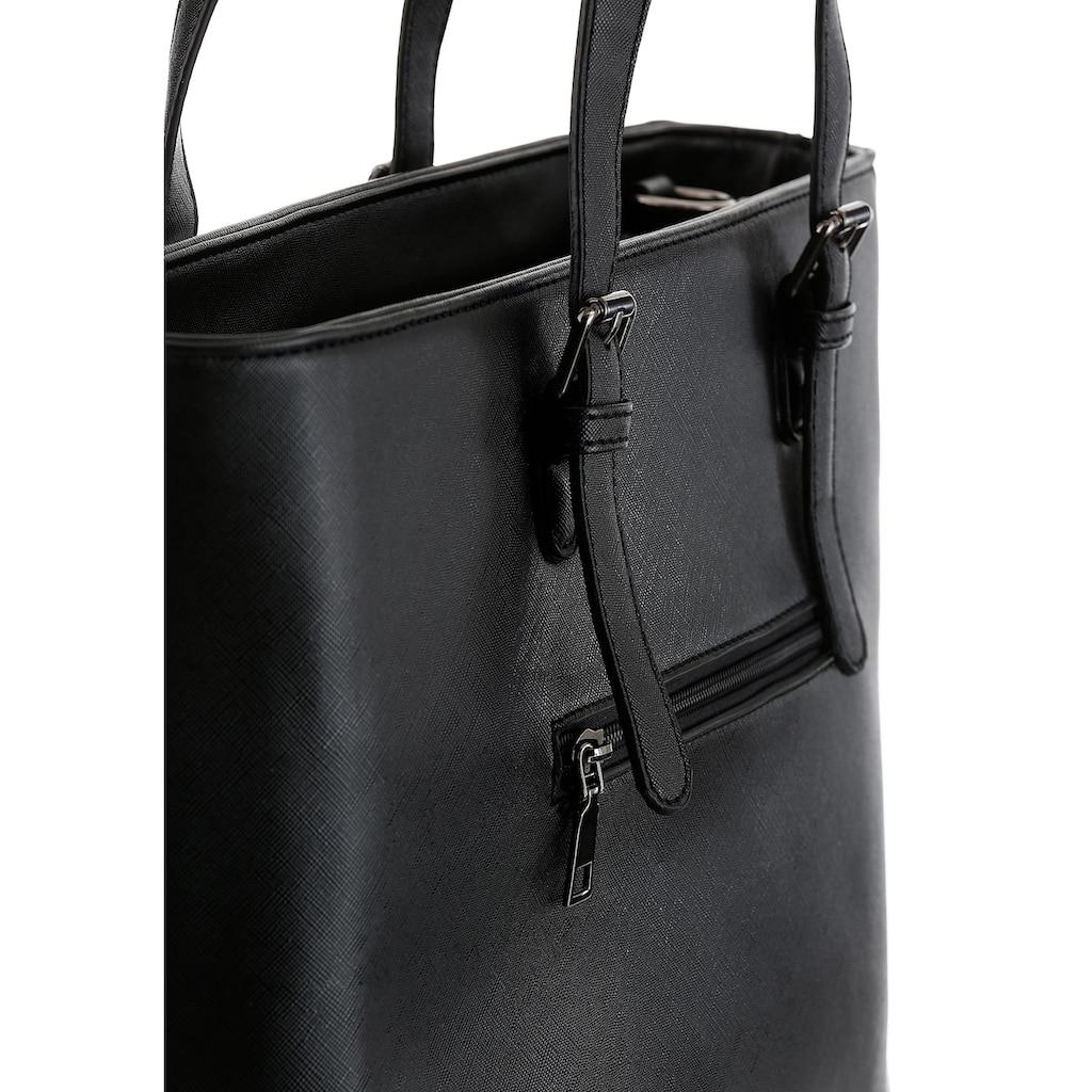 Bruno Banani Shopper, im schlichten Design