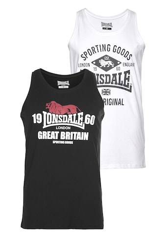 Lonsdale Tanktop, (Packung, 2er-Pack) kaufen