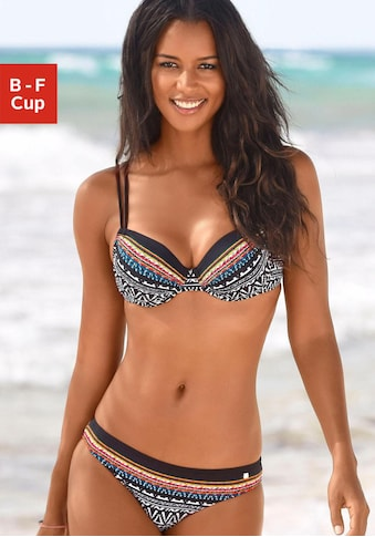 JETTE Bügel-Bikini, mit Muster kaufen