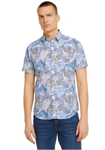 TOM TAILOR Kurzarmhemd, mit Allover-Print kaufen