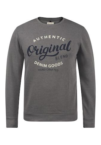 Blend Sweatshirt »Thomas«, Sweatpullover mit weicher Fleece-Innenseite kaufen