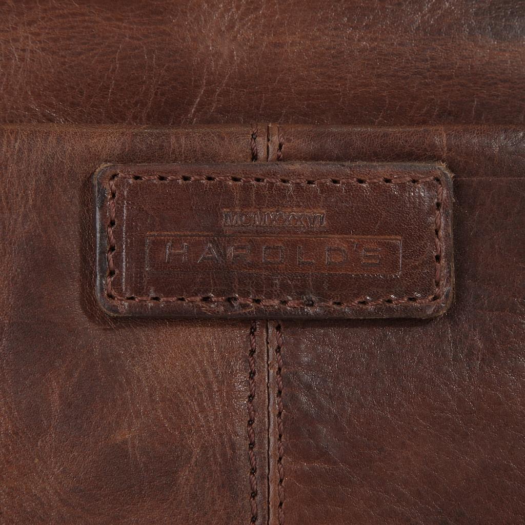Harold's Aktentasche »SADDLE«, vegetabil gegerbt