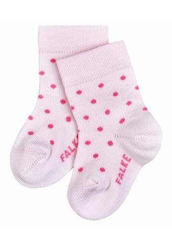 FALKE Socken »Little Dot«, (1 Paar), aus hautschmeichelnder Baumwolle kaufen
