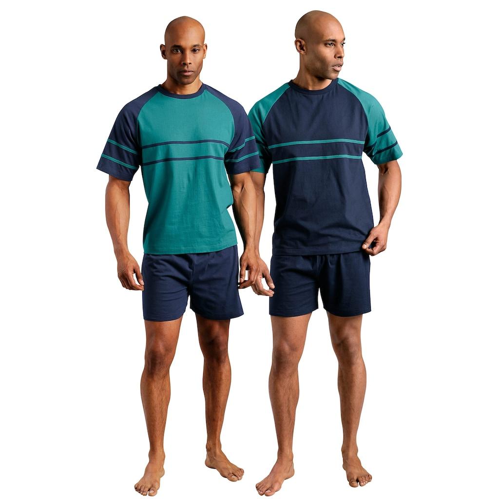 le jogger® Shorty, mit aufgesetzten Streifen