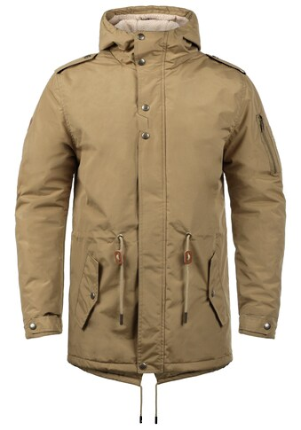 Blend Parka »Ebong«, warme Jacke mit Innenfutter aus Teddyfell kaufen