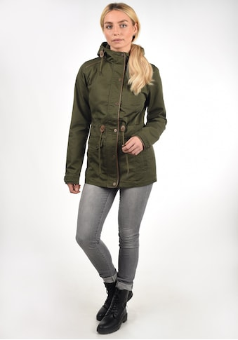 DESIRES Langjacke »Anja«, Übergangsjacke mit hochabschliessendem Kragen kaufen