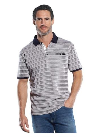 Engbers Sportives Poloshirt mit hochwertigen Strukturstreifen kaufen