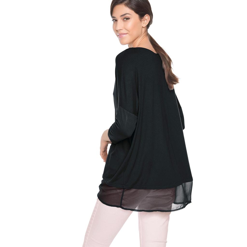 LINEA TESINI by Heine Oversize-Shirt
