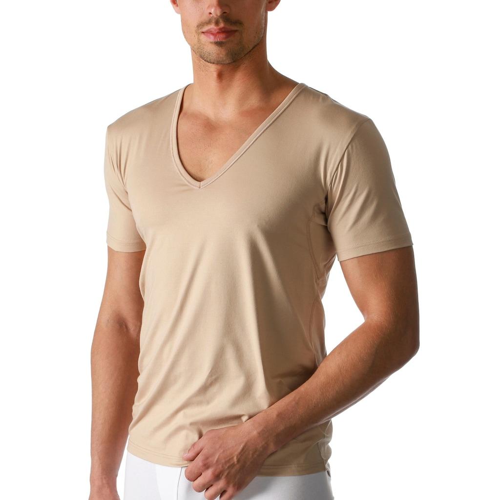 Mey Unterziehshirt, Drunterhemd mit tiefem V-Ausschnitt