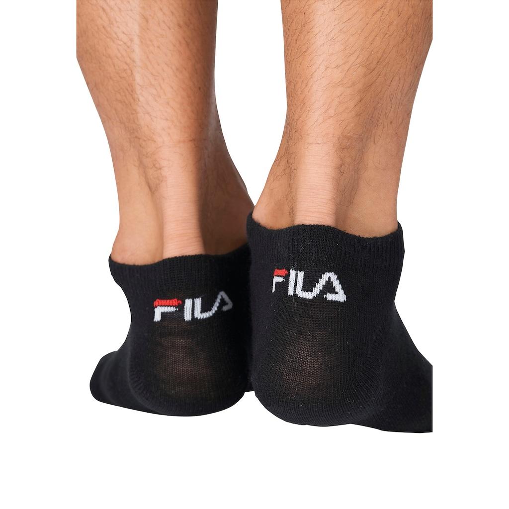 Fila Sneakersocken, (9 Paar), mit klassischem Markenlogo