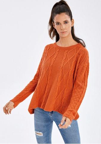 LTB Strickpullover »ZAFACO«, mit besonderer Strick-Struktur für einen casual Look kaufen