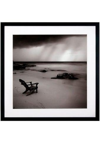 G&C Kunstdruck »Levy: Beach Motiv 2«, 50/50 cm, gerahmt kaufen